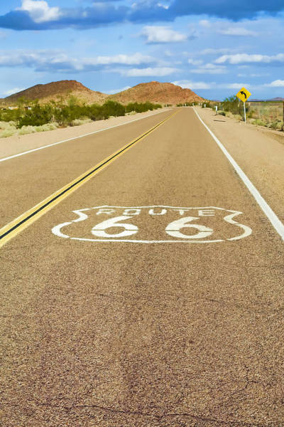 Historic Route 66 Photograph - Route 66 Vintage by Lutz Baar