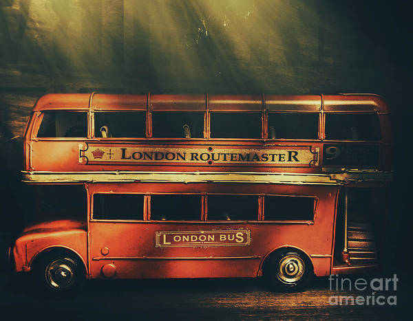 Wall Art - Photograph - Routemaster Bus Station by Jorgo Photography - Wall Art Gallery