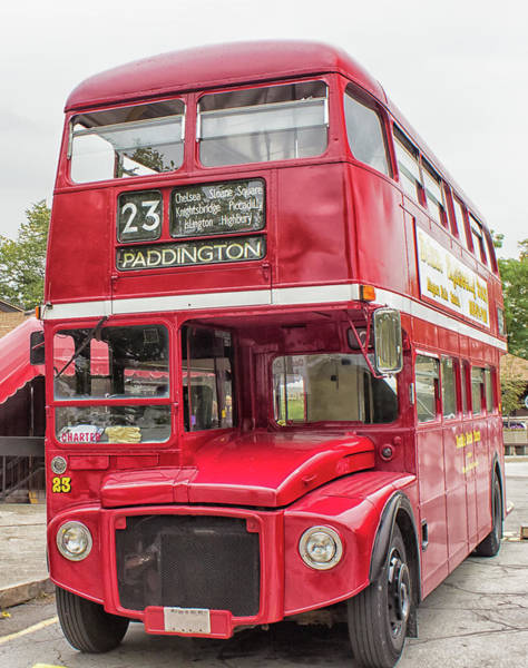 Popart Photograph - Routemaster by Martin Newman