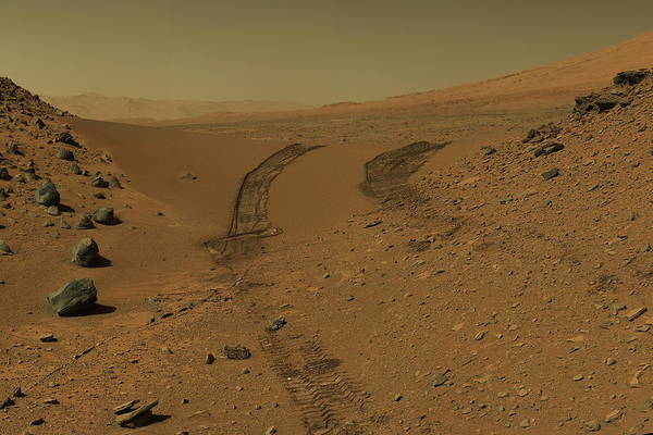 Jet Propulsion Laboratory Photograph - Roving Across Mars 2 - Mars Light by Nasa