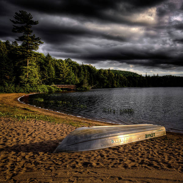 Photograph - Row Boat At Dusk by David Patterson
