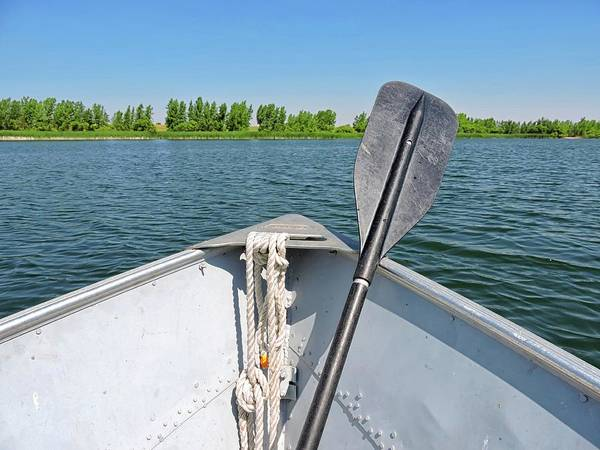 Arapahoe County Wall Art - Photograph - Row Boat On The Lake by Connor Beekman