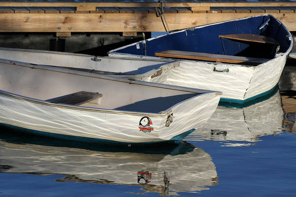 Photograph - Row Boats In Manchesta  by Juergen Roth