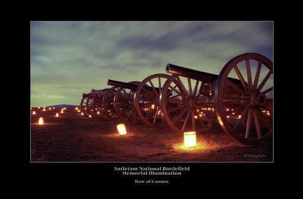 Luminaries Photograph - Row Of Cannon 98 by Judi Quelland