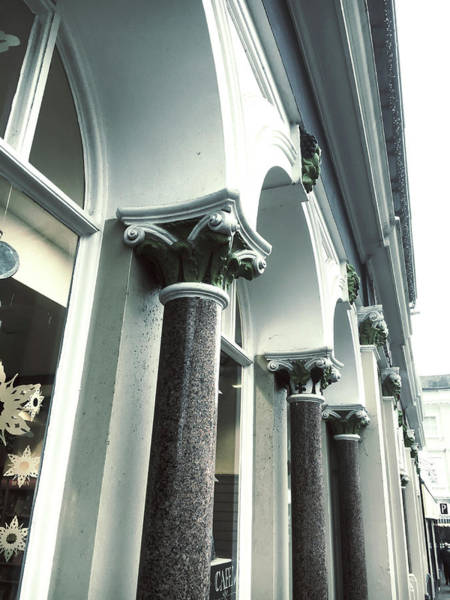 Wall Art - Photograph - Row Of Columns by Tom Gowanlock