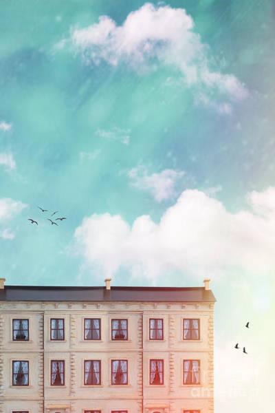 Wall Art - Photograph - Row Of Terraced Dolls Houses by Amanda Elwell