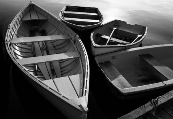 Dinghies Photograph - Row Row by Nicole Robinson
