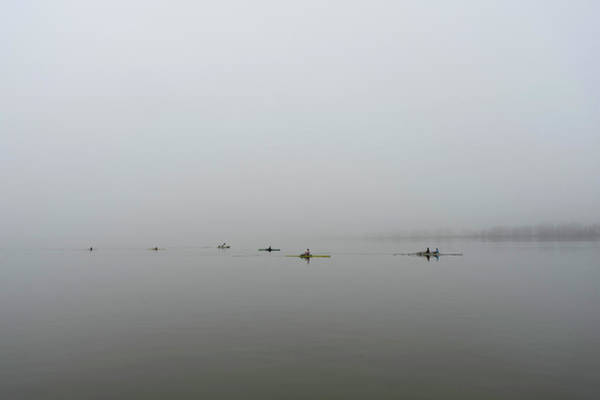 Photograph - Foggy Morning On The Potomac by David Posey