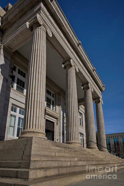 Photograph - Rowan Courthouse 1 C by Patrick M Lynch