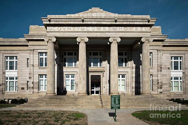 Photograph - Rowan Courthouse 2 C by Patrick M Lynch