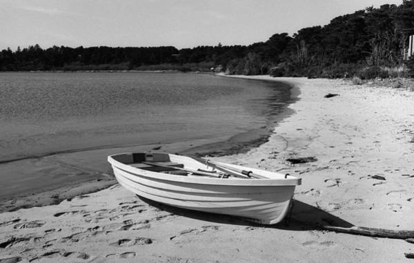 Photograph - Rowboat On The Beach by HW Kateley