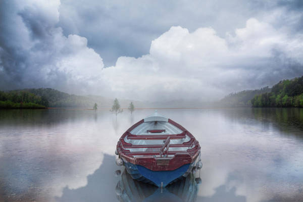 Photograph - Rowboat Reflections by Debra and Dave Vanderlaan