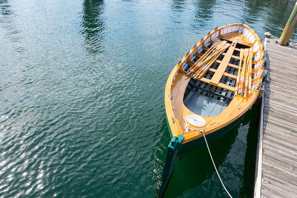 Photograph - Rowboat by SR Green