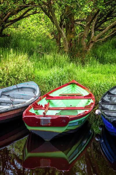 Photograph - Rowboats At The Harbor by Debra and Dave Vanderlaan