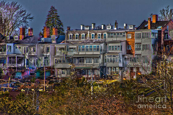 Photograph - Rowhouse by William Norton