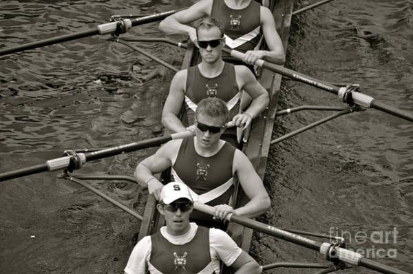 Wall Art - Photograph - Rowing At The Regatta by Jason Freedman