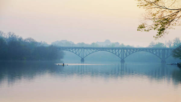 Photograph - Rowing On The Schuykill In The Springtime by Bill Cannon