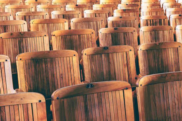 Classroom Photograph - Rows Of Seats by Todd Klassy