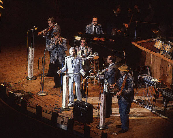 Photograph - Roy Acuff At The Grand Ole Opry by Jim Mathis