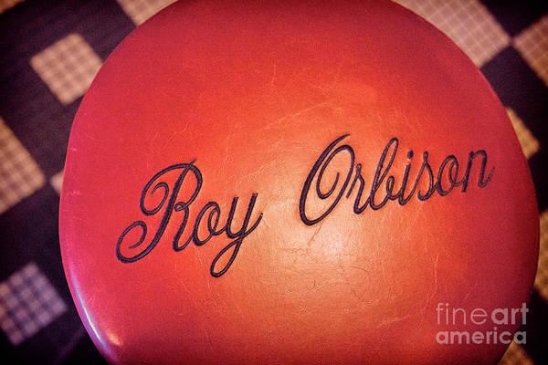 Wall Art - Photograph - Roy Orbison Stool Sun Studio  by Chuck Kuhn