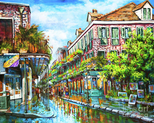 Louisiana Wall Art - Painting - Royal At Pere Antoine Alley, New Orleans French Quarter by Dianne Parks