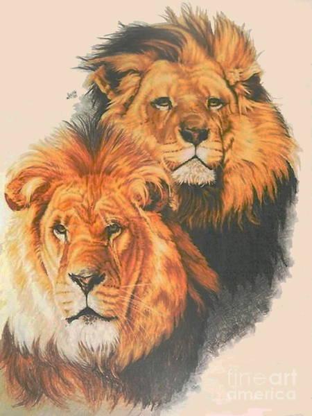 Drawing - Royal Brothers by Barbara Keith