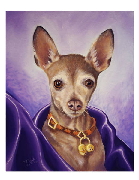 Painting - Royal-chi-wawa by Tish Wynne