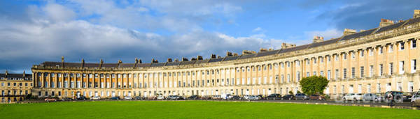 Photograph - Royal Crescent, Bath by Colin Rayner