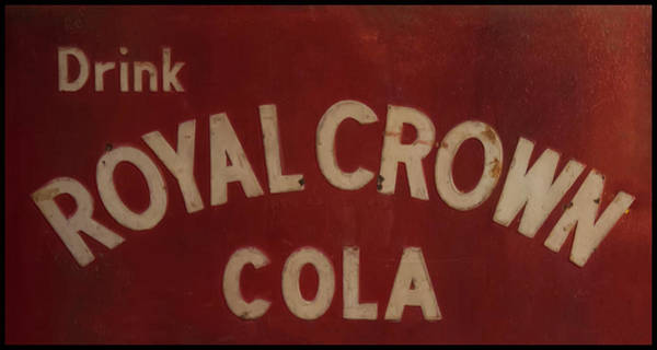 Photograph - Royal Crown Cola Sign by Chris Flees