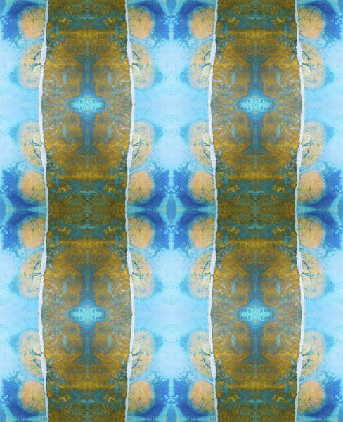 I Phone Case Mixed Media - Royal Decorative Ink Tile Pattern by Peter V Quenter