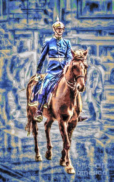 Horsemanship Painting - Royal Guard by GabeZ Art