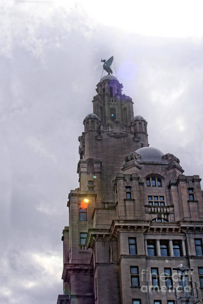 Photograph - Royal Liver Building - Liverpool by Doc Braham