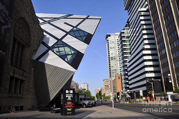 Roms Photograph - Royal Museum Of Ontario by Andrew Dinh
