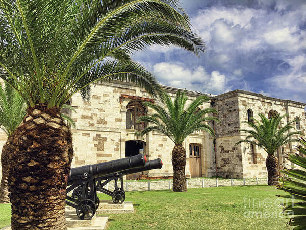 Wall Art - Photograph - Royal Naval Dockyard Fort by Luther Fine Art