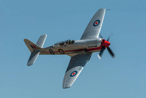 Hawker Sea Fury Photograph - Royal Navy Sea Fury T20 by Erik Simonsen