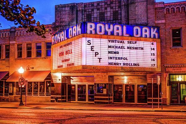 Photograph - Royal Oak Theater  V2 Dsc_0432 by Michael Thomas