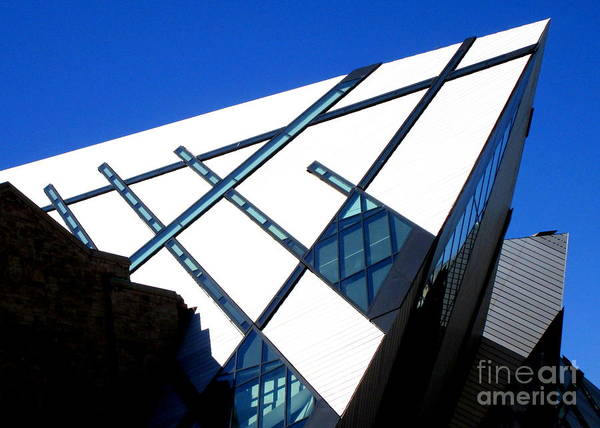 Roms Photograph - Royal Ontario Museum 1 by Randall Weidner