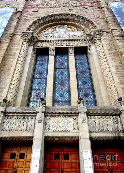 Roms Photograph - Royal Ontario Museum 11 by Randall Weidner