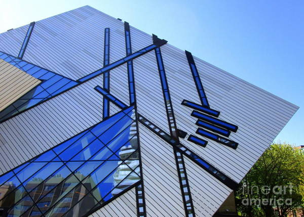 Roms Photograph - Royal Ontario Museum 2 by Randall Weidner