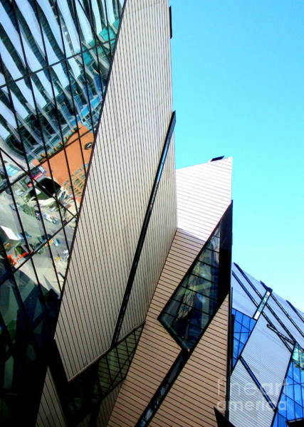Roms Photograph - Royal Ontario Museum 3 by Randall Weidner