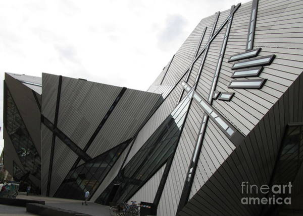 Roms Photograph - Royal Ontario Museum 4 by Randall Weidner