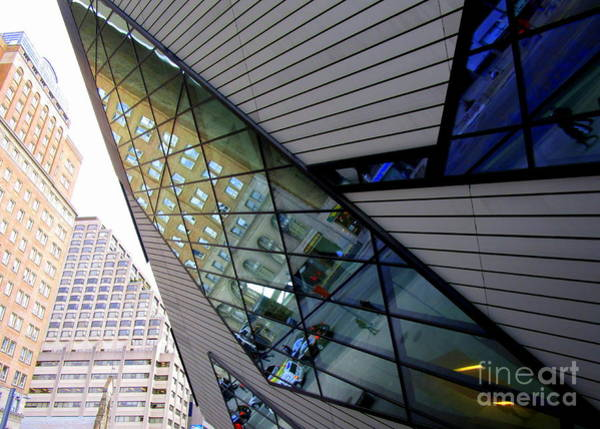 Roms Photograph - Royal Ontario Museum 5 by Randall Weidner