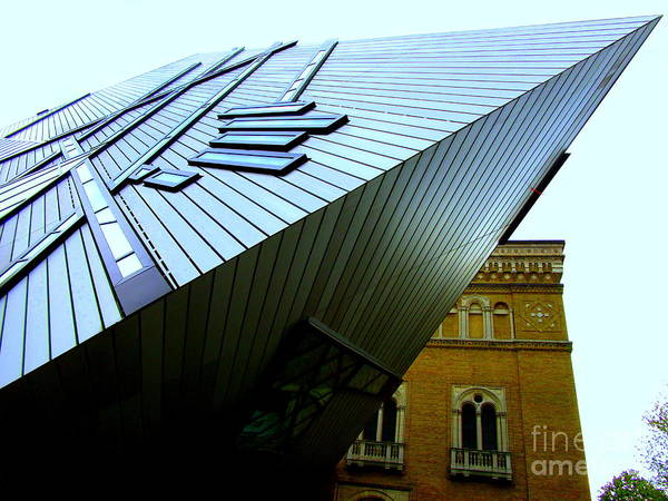 Roms Photograph - Royal Ontario Museum 6 by Randall Weidner