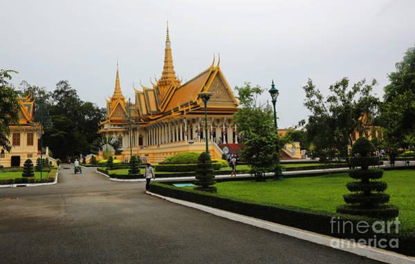 Phnom Penh Wall Art - Photograph - Royal Palace II by Chuck Kuhn