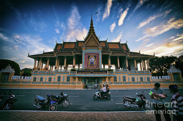 Photograph - Royal Palace In Phnom Penh, Cambodia by Sam Antonio Photography