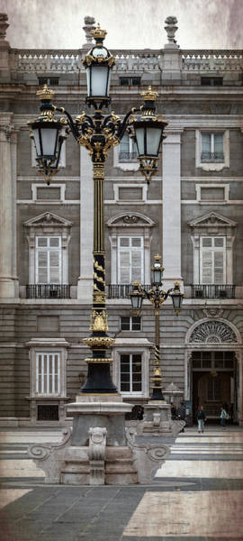 Photograph - Royal Palace Lamppost by Joan Carroll