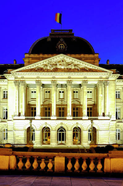 Photograph - Royal Palace Of Brussels by Fabrizio Troiani