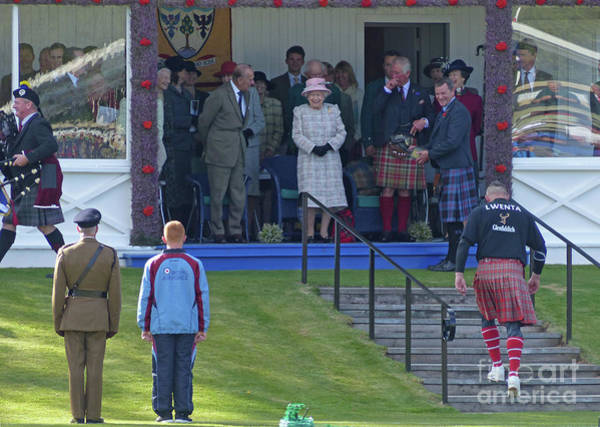 Photograph - Royal Smiles At Braemar by Phil Banks