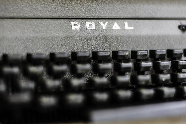 Photograph - Royal Typewriter #11 by Chris Coffee
