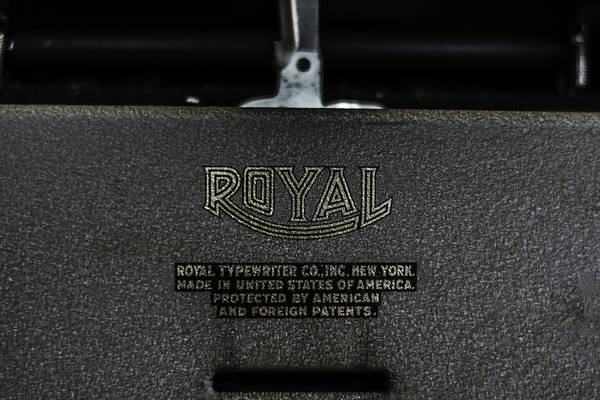 Photograph - Royal Typewriter #15 by Chris Coffee